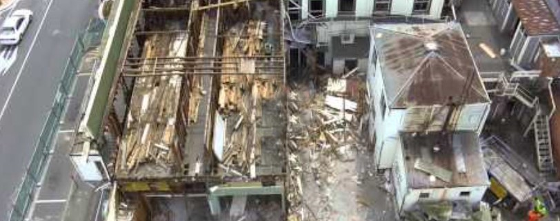 Demolition from above